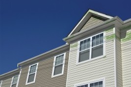Siding on Home - Roof Cleaning